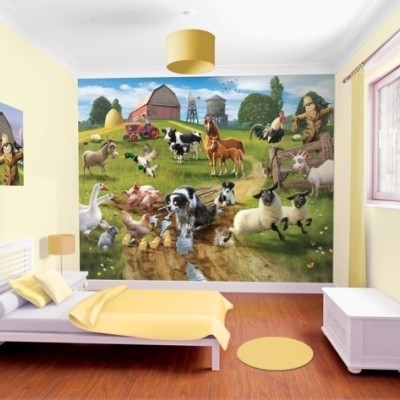 Image Result For Farm Wallpaper For Kids
