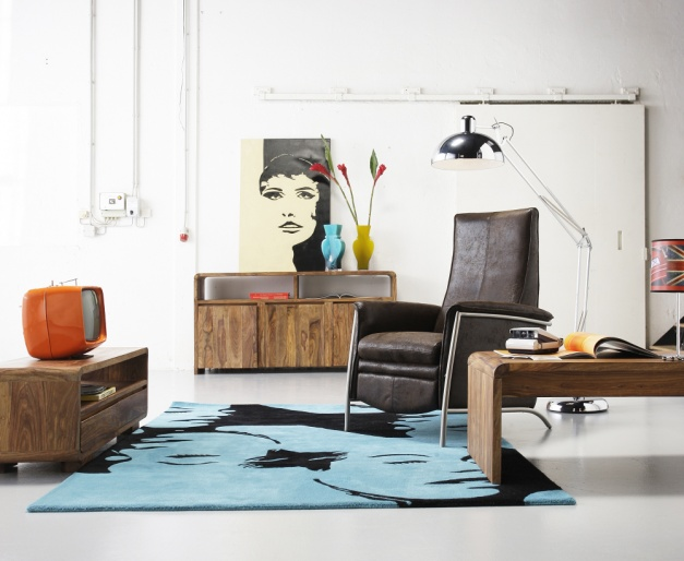 salon w stylu pop-art