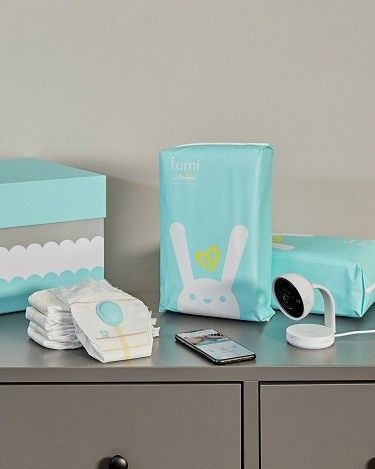 Lumi by Pampers System in nursery